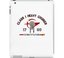 Heavy Class Cruiser Back - light iPad Case/Skin