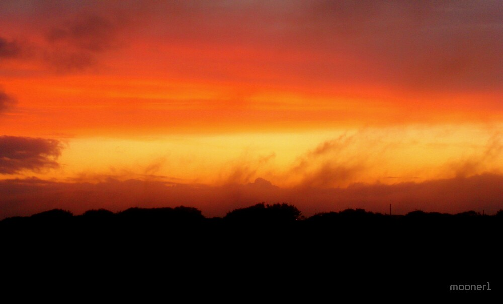 August Sunset, Point Judith, RI, USA by mooner1