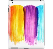 Abstract paint watercolor iPad Case/Skin