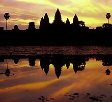 Angkor at Dawn by Darren Kearney