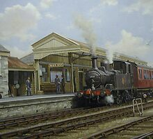 Brixham station by Mike Jeffries