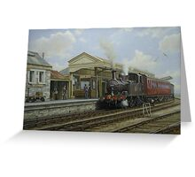 Brixham station Greeting Card
