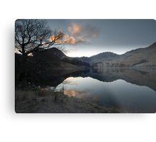 Lake Buttermere, Lake District, Cumbria Metal Print