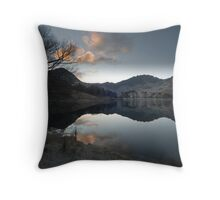 Lake Buttermere, Lake District, Cumbria Throw Pillow