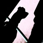 Rufus and Me ...Shadow Playing! by Carla Jensen