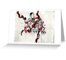 Chicago Bulls - Dream Greeting Card