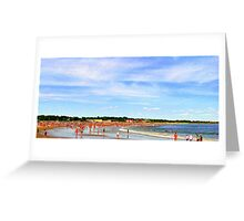 Narragansett Beach, RI, USA Greeting Card