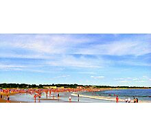 Narragansett Beach, RI, USA Photographic Print