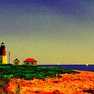 Point Judith Lighthouse, RI, USA by mooner1