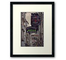 O  Franco Framed Print