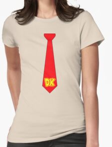 DK Tie - Donkey Kong Tie T-Shirt Womens Fitted T-Shirt