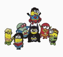 Justice League of Banana Kids Clothes