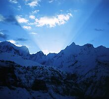 Himalayan dawn by John Spies