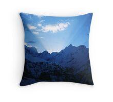 Himalayan dawn Throw Pillow