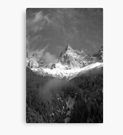 Chamonix Valley 1 Canvas Print