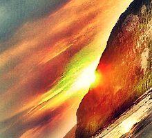 dramatic sunset by joannemaree