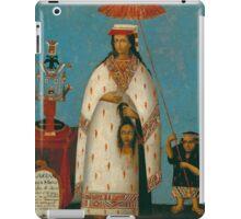 Peruvian Princess iPad Case/Skin
