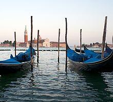 Venice sunset by Francesco Carucci