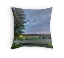 August Pasture Throw Pillow