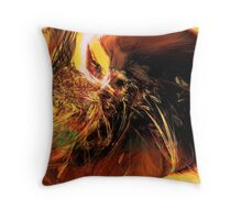 cleansing hand...close up Throw Pillow