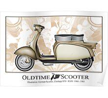 Oldtimer Scooter R50 Poster
