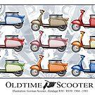 Oldtimer Scooter R50 Variations by tattoofreak