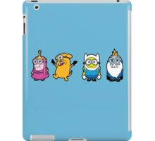 Time for a Minion Adventure iPad Case/Skin
