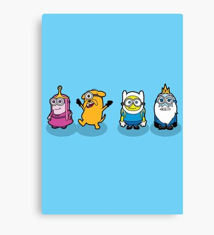 Time for a Minion Adventure Canvas Print