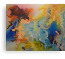 8 ways to Sunday 3 of 3  Canvas Print