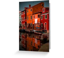 Burano Living Greeting Card