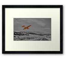 LANDING STRIP Framed Print