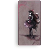 The Lady in Pink Canvas Print