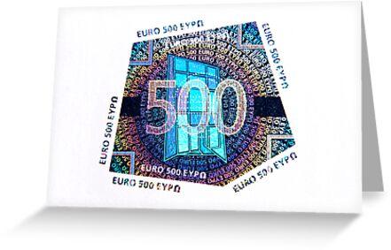 500 Hundred Euros by Markku Vitikainen