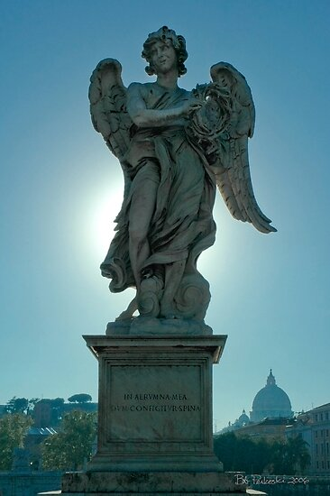 Angel With The Crown of Thorns by Bob  Perkoski