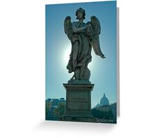 Angel With The Crown of Thorns Greeting Card