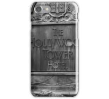 The Hollywood Tower Hotel iPhone Case/Skin