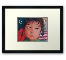 I Am Obama Framed Print