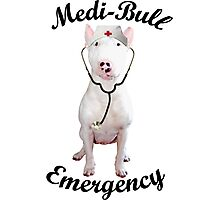 Medi-Bull Emergency! Photographic Print