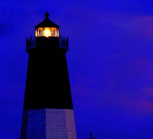 Point Judith Lighthouse, RI, USA by mooner1
