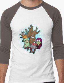 Galaxy Minions Men's Baseball ¾ T-Shirt