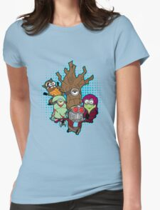 Galaxy Minions Womens Fitted T-Shirt