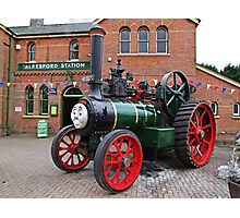 """Trevor"" The Traction Engine Photographic Print"