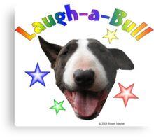 Laugh-a-Bull Metal Print