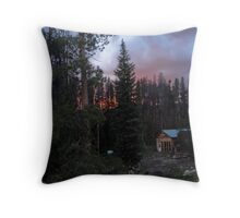 Of Pine Beetles and Forest Fires Throw Pillow