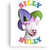 Silly Bully Canvas Print