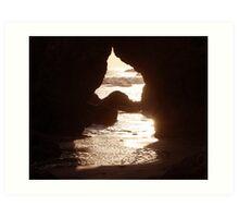 """Opening to Ocean"" Art Print"