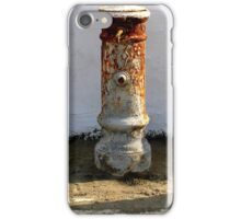Typical Roman fountain iPhone Case/Skin