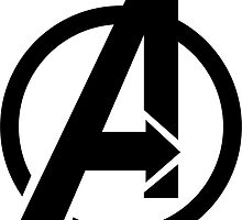 Avengers' Logo by partycautious