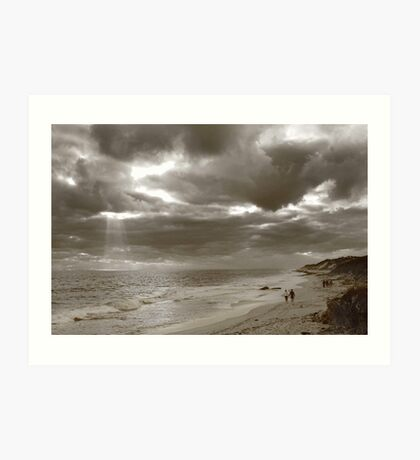 Winters Afternoon At Burns Beach Western Australia Art Print