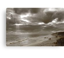 Winters Afternoon At Burns Beach Western Australia Canvas Print
